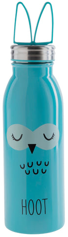 Aladdin Zoo Water Bottle 0.43L Stainless Steel Vacuum - Owl - LocoSonix