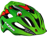 Lazer P'nut Helmet Dragon Green - Youth 46-50cm