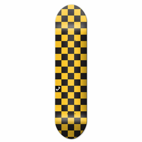 Yocaher Deck CHECKER YELLOW 8""