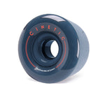 Cinetic Fractal 70MM 84A Wheels - Navy Blue [pack of 4] - LocoSonix