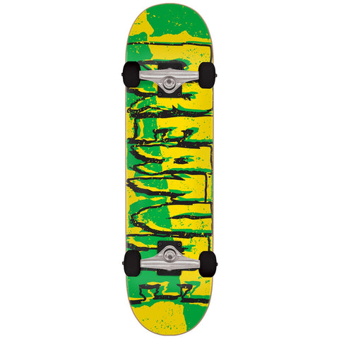 "Creature 7.5"" Ripped Logo Micro Skateboard Complete"