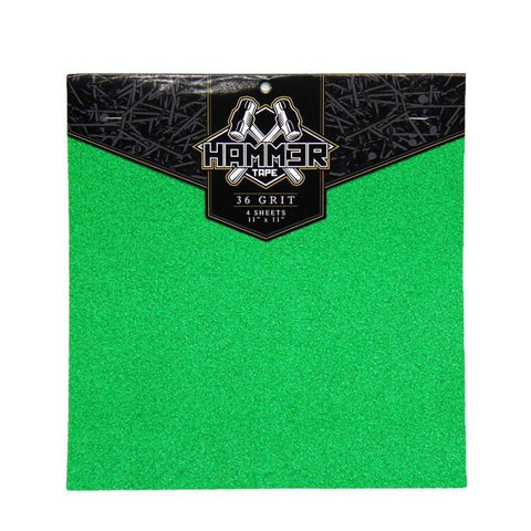 "Bear Hammer Tape (pack of 4) 11""x11"" - Green - LocoSonix"