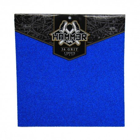 "Bear Hammer Tape (pack of 4) 11""x11"" - Blue - LocoSonix"