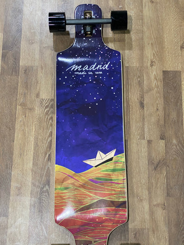"Madrid 39"" DTF Longboard Complete - ORIGAMI"