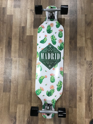 "Madrid 39"" Dream Cacti TM Longboard Complete"