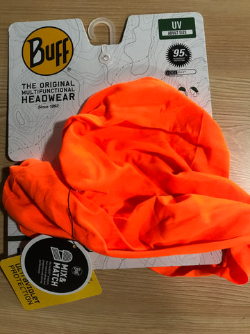 Buff Multifunctional UV Scarf - Orange Fluor - LocoSonix