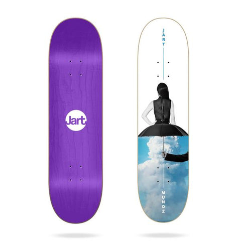 "Jart 8.125"" HC Muñoz Skateboard DECK ONLY"