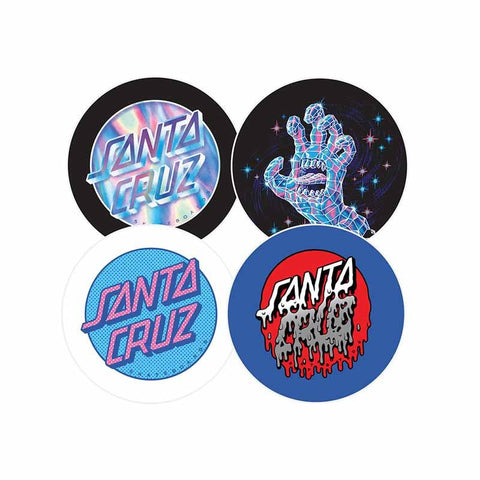 Santa Cruz CRYSTAL Button Pack