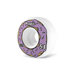 Mosaic CS Donut 53MM 101A Wheels - Purple [pack of 4]