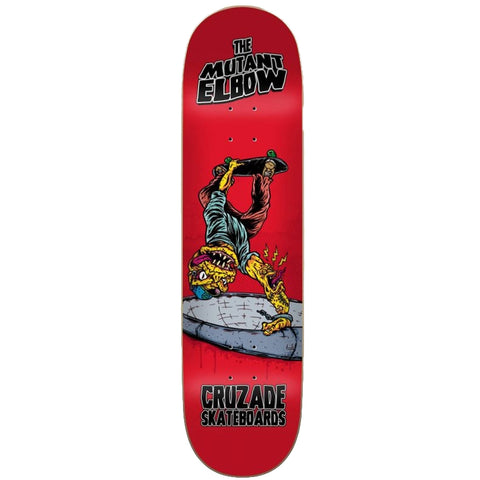Cruzade Sk8 Deck THE MUTANT ELBOW 8.25""
