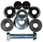 Steadfast Kingpin Bushing Kit - Hard (overhaul pack) [black] - LocoSonix