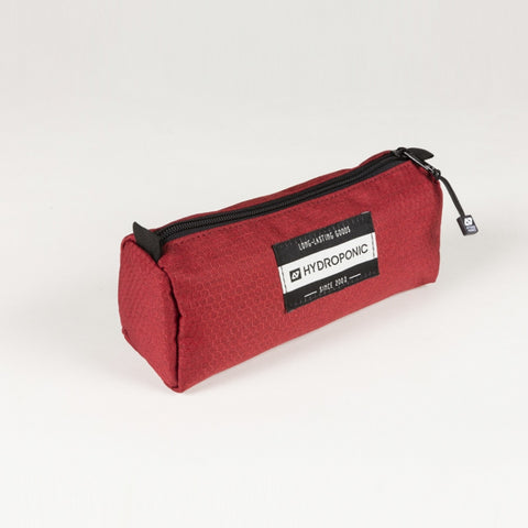 HydroPonic PENCIL Pouch - Red Honeycomb