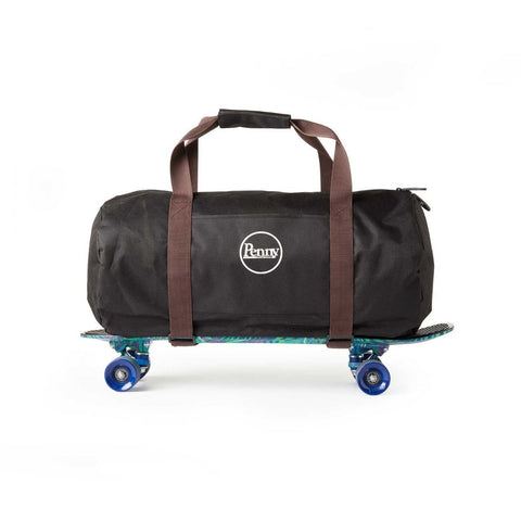 Penny Duffle Bag - Black / Brown - LocoSonix