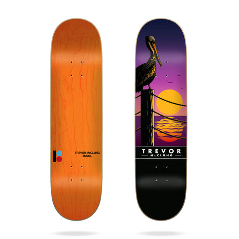 "Plan B 8.25"" Trevor Sunset Skateboard Deck - LocoSonix"