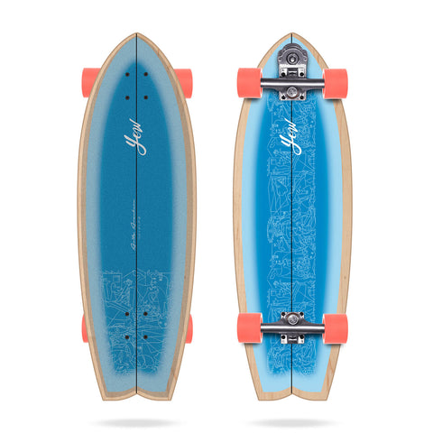 "Yow 30.5"" Signature Series Aritz Aranburu Surfskate - LocoSonix"