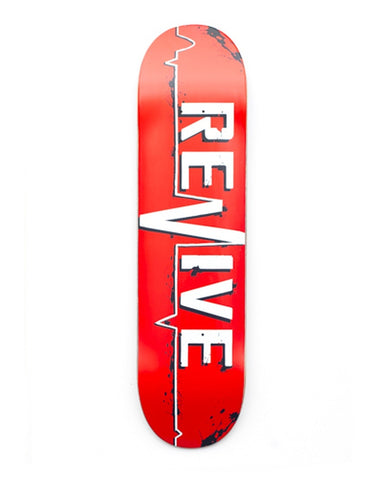 Revive Red Lifeline Skateboard Deck