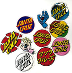 Santa Cruz Assorted Stickers Assorted Color - Pack of 10