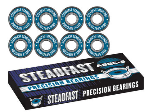 Steadfast ABEC-5 Bearings [pack of 8] - LocoSonix