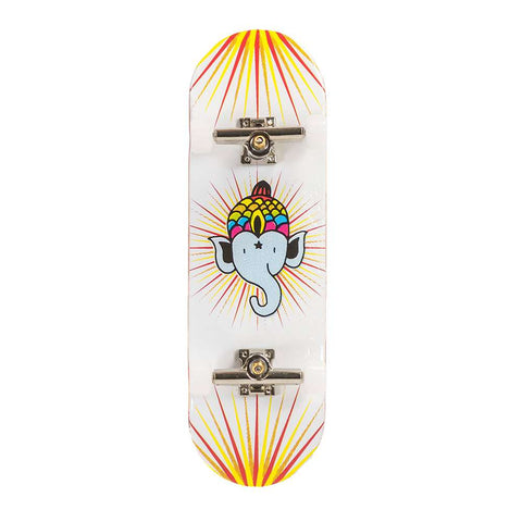 Blackriver Bollie Fingerboard Setup - Logo White