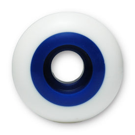 Steadfast Two-Tone 53mm 99A Wheels - White / Blue - LocoSonix