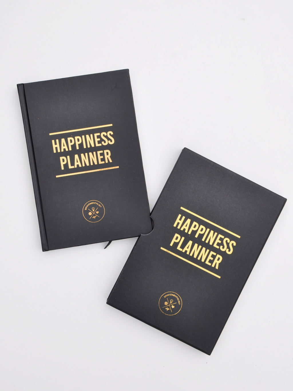 Black: The 100 Day Happiness Planner in Black - LEIF