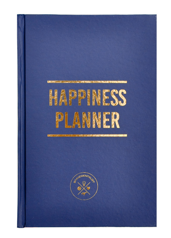 Navy: The 100 Day Happiness Planner in Navy - LEIF