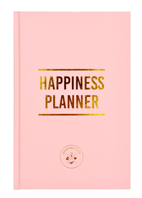Pink: The 100 Day Happiness Planner in Pink - LEIF