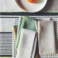 2: Two-Tone Palette Linen Napkin Set in  - LEIF
