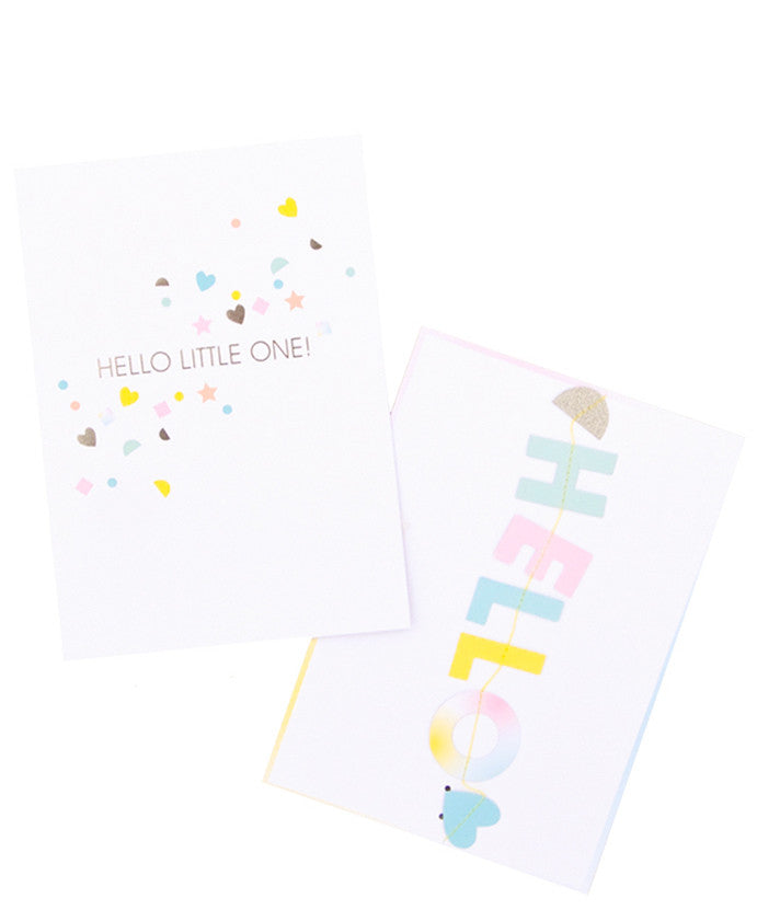 Hello Little One Garland Card - LEIF