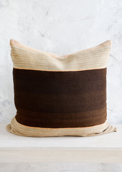 Bolivian Frazada Pillow in Cambria