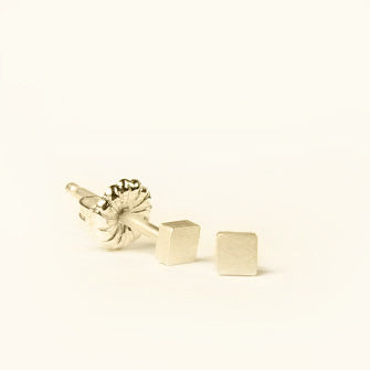 Mini Geometry Square Studs