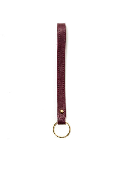 Loop Leather Keychain