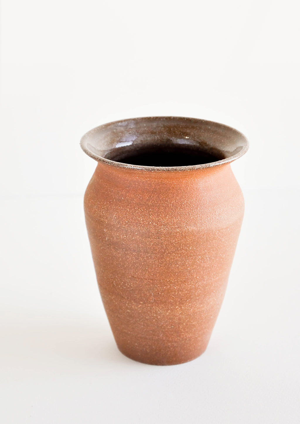 1: Almond Ceramic Vase in  - LEIF