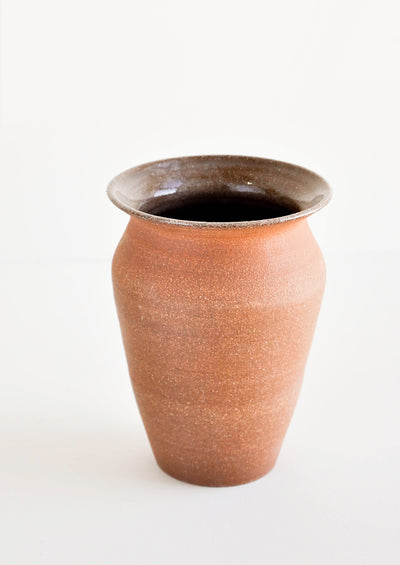 Almond Ceramic Vase in  - LEIF