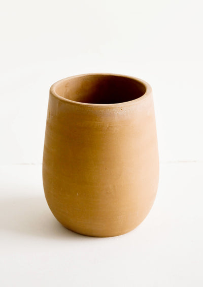 Aged Terracotta Utensil Crock