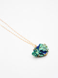 Azurite Malachite Claw Necklace