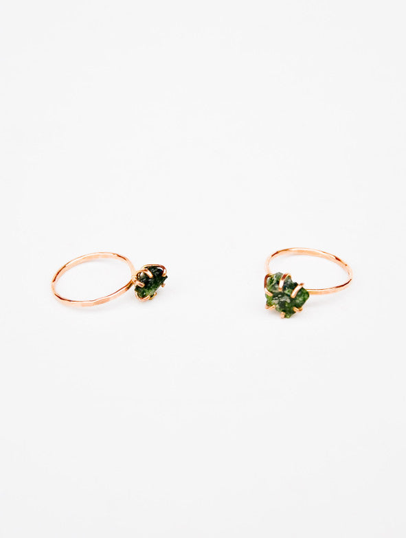 Diopside Claw Ring - LEIF