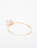Rose Quartz Hook Bracelet - LEIF
