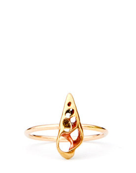 Seashell Bisect Ring - LEIF