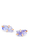 Tanzanite Claw Stud Earrings - LEIF