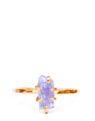 Tanzanite Claw Ring - LEIF