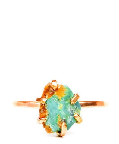 Turquoise Claw Ring - LEIF