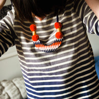 Mountain Necklace in Coral - LEIF
