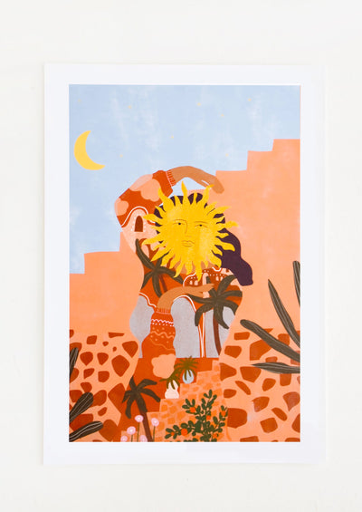 Soul Full Of Sunshine Print in  - LEIF