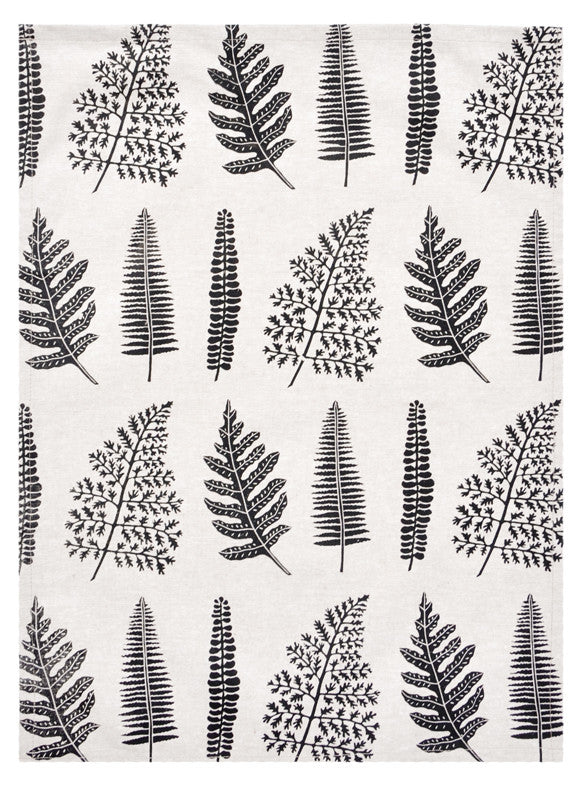 1: Fern Print Tea Towel in  - LEIF