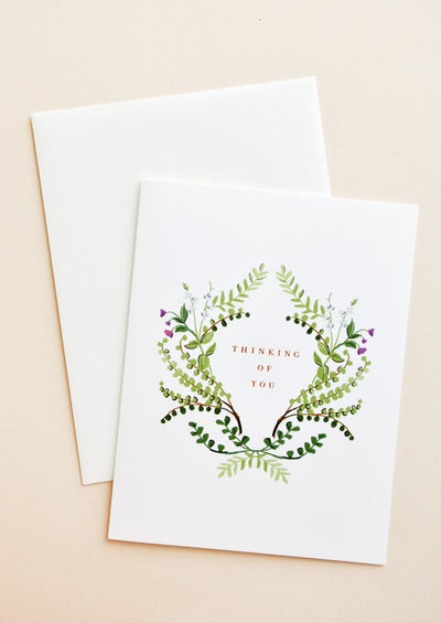 Thinking Of You Ferns Card in  - LEIF