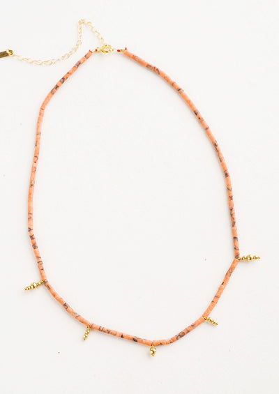 Ancienta Beaded Necklace hover