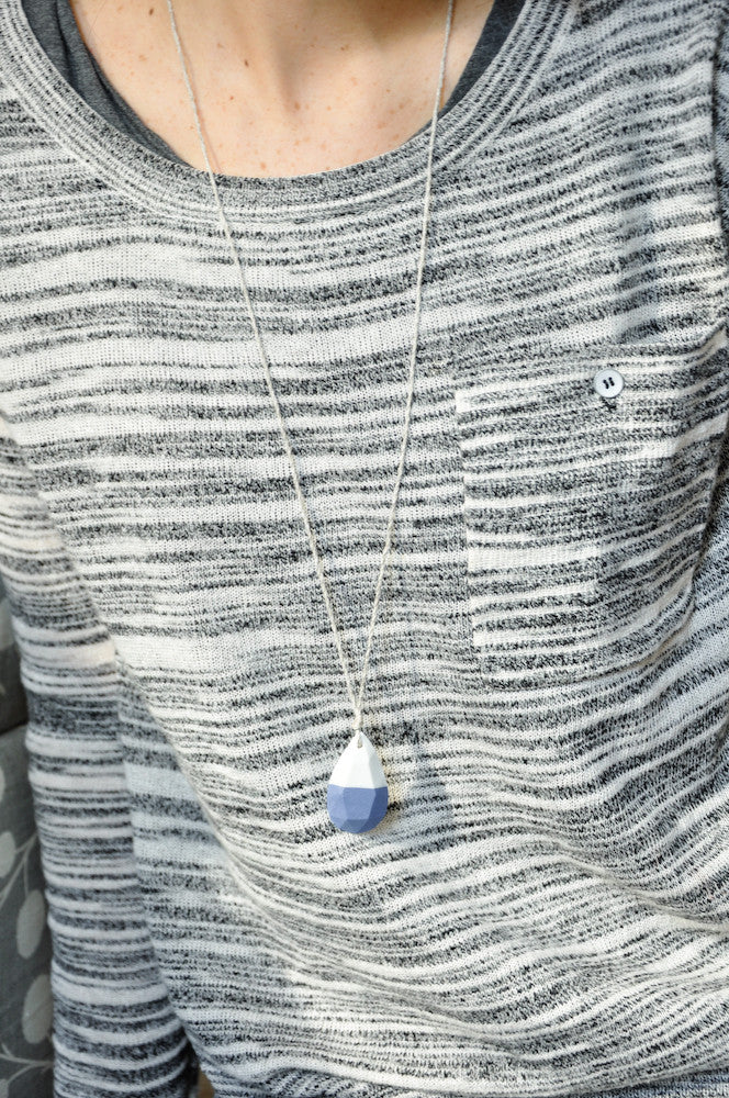 Porcelain Gem Necklace