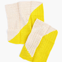1: Angle Crochet Dish Towel Set in  - LEIF