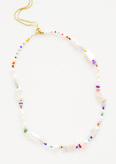Aphrodite Pearl Mix Necklace